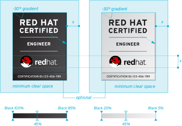 Certification logos – Red Hat Brand Standards